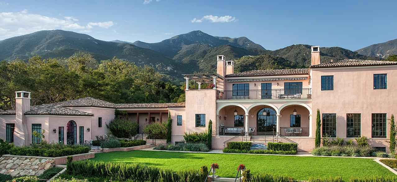 High end residential construction project in Montecito, CA