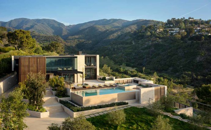Modern Residential Estate Pacific Palisades