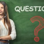 Woman and questions